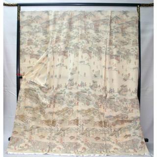 ◆一品物◆弊社工房オリジナル◆汕頭と手刺繍◆お誂えお仕立て付 振袖(振袖)