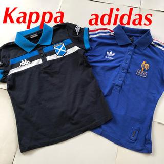 アディダス(adidas)のカッパ アディダス ポロシャツ 2枚 半袖 M スポーツ ワールドカップ(ポロシャツ)
