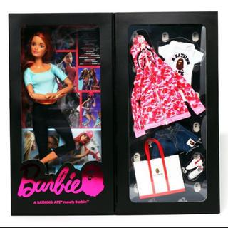 アベイシングエイプ(A BATHING APE)のbape barbie ピンクカモ(ぬいぐるみ/人形)