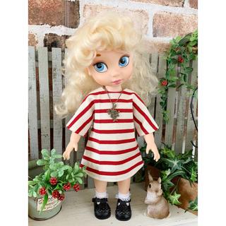 ディズニー(Disney)のアニメータードール 服 天竺編みチュニックワンピース(人形)