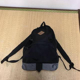 ジーユー(GU)のジーユー リュック ブラック 黒(バッグパック/リュック)