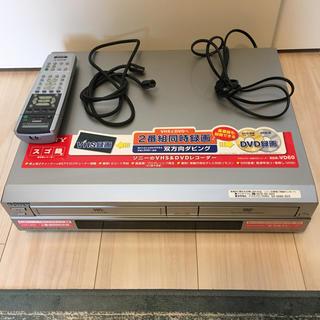 ソニー(SONY)のSONY RDR-VD60 VHSビデオ一体型DVDレコーダー(DVDレコーダー)