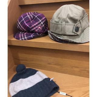 バーバリーブルーレーベル(BURBERRY BLUE LABEL)のバーバリー  3点セット(ハンチング/ベレー帽)