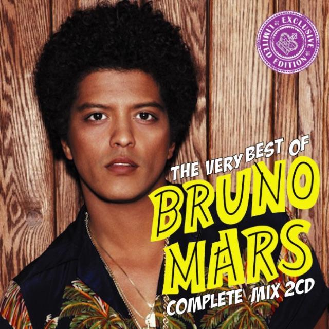 Bruno Mars ブルーノマーズ 2枚組56曲 Best MixCD エンタメ/ホビーのCD(R&B/ソウル)の商品写真