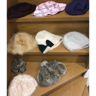 グレースコンチネンタル(GRACE CONTINENTAL)の帽子 8点セット+ファーベルト1点(ハンチング/ベレー帽)