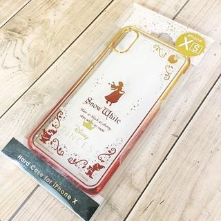 シラユキヒメ(白雪姫)の白雪姫 iPhoneX/Xs スマホケース ハードケース クリア(iPhoneケース)