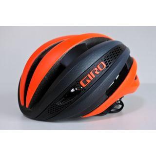 ジロ(GIRO)の★ GIRO ジロ シンセ MIPS ヘルメット Sサイズ ブラックオレンジ(ウエア)