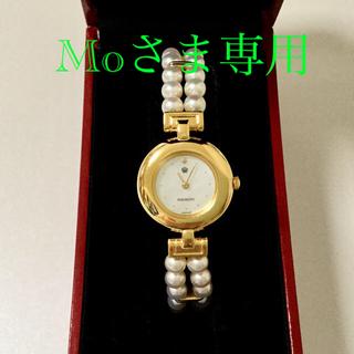 ミキモト(MIKIMOTO)のMIKIMOTO International パールブレスレットウォッチ(腕時計)