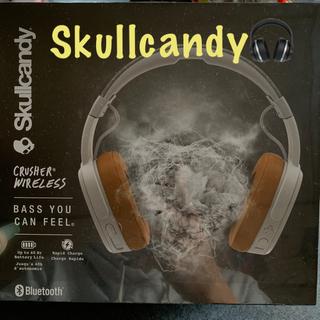 スカルキャンディ(Skullcandy)のSkullcandy crusher wireless GRAY/TAN(ヘッドフォン/イヤフォン)