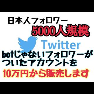 アイフォリア(IPHORIA)のTwitterアカウント[能動的フォロワー5000人]値段交渉可能(携帯用ゲームソフト)
