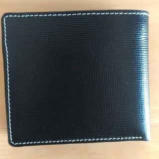 b88477d7cb96 ホワイトハウスコックス(WHITEHOUSE COX)のWHITEHOUSECOX 折り財布 ブラック ネイビー(折り財布