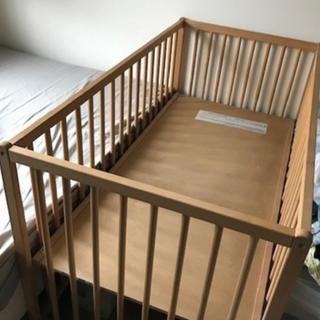 イケア(IKEA)のベビーベッド(ベビーベッド)