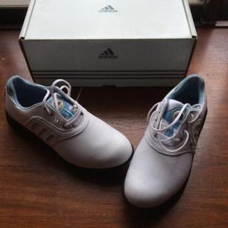 アディダス(adidas)のadidas  アディダス  レディース ゴルフシューズ  235J WIDE(シューズ)