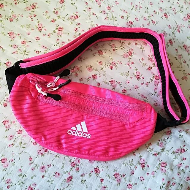 adidas(アディダス)の売り切れ御免♪adidas♪ランニング ポーチ♪ レディースのバッグ(ボディバッグ/ウエストポーチ)の商品写真