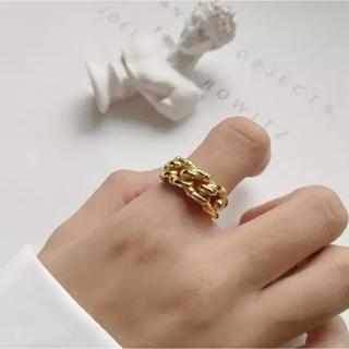 ユナイテッドアローズ(UNITED ARROWS)のデザインリング ゴールド(リング(指輪))
