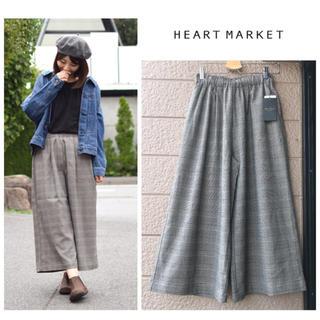 ハートマーケット(Heart Market)の新品♡ハートマーケット♡グレンチェックワイドパンツ(カジュアルパンツ)