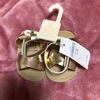 ベビーギャップ(babyGAP)のベビーサンダル❇︎新品未使用(サンダル)