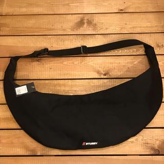 ステューシー(STUSSY)の新品 ボディバッグ バッグ 男女兼用 STUSSY ステューシー 黒 ブラック(ショルダーバッグ)