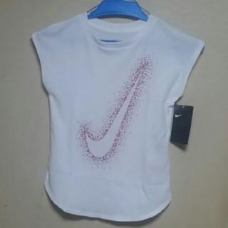 ナイキ(NIKE)の【新品未着用】NIKE ノースリーブ(120)(Tシャツ/カットソー)