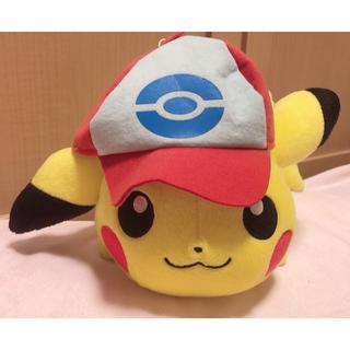 ポケモン(ポケモン)のピカチュウ  ぬいぐるみ 帽子(ぬいぐるみ)