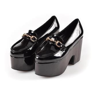 エブリン(evelyn)の【新品・未使用】evelyn オリジナルビットローファー(ローファー/革靴)