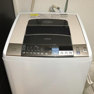 ヒタチ(日立)の【ショッタマーさま専用】乾燥機能付き洗濯機 日立 ウォッシュビート BW-D7(洗濯機)