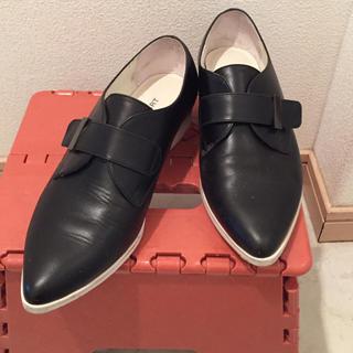 ジルスチュアート(JILLSTUART)のJILLSTUART☺︎ブラックローファー(22cm)(ローファー/革靴)