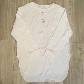 ジーユー(GU)の♡ハニカムロングスリーブT♡値下げしました!(Tシャツ(長袖/七分))