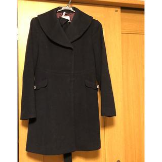 Feroux - ネイビーの冬コート【中古】
