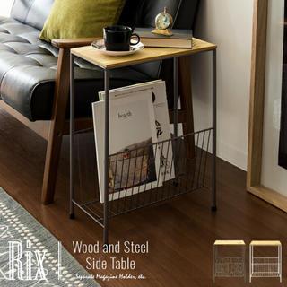 サイドテーブル 木製 ソファーテーブル(その他)