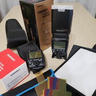 YONGNUO YN600EX-RTII+コマンダー+αセット(ストロボ/照明)