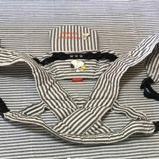 ニシマツヤ(西松屋)のスヌーピー 抱っこ紐(抱っこひも/おんぶひも)