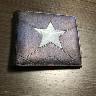 ディズニー(Disney)の新品未使用 マーベル財布 お札入れ かっこいい 折りたたみ(折り財布)