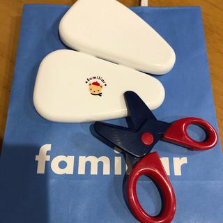 ファミリア(familiar)のファミリア  離乳食はさみ(離乳食調理器具)