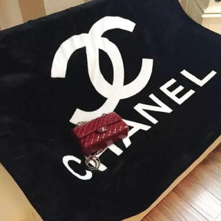 シャネル(CHANEL)のCHANEL ブランケット ノベルティー(毛布)