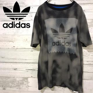 アディダス(adidas)の【激レア】アディダス adidas☆トレフォイルビッグロゴ ロゴタグ Tシャツ(Tシャツ/カットソー(半袖/袖なし))