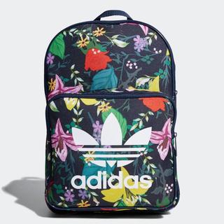 アディダス(adidas)のネイビー/花柄    リュック(リュック/バックパック)