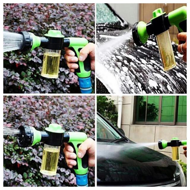 洗車 フォームガン クリーナー 洗濯 洗剤 容器 付き 自動車 バイク 掃除 自動車/バイクの自動車(洗車・リペア用品)の商品写真