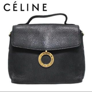 44bda5203408 セリーヌ(celine)のCELINE セリーヌ リング サークル ハンドバッグ レザー 本革 レトロ(ハンドバッグ