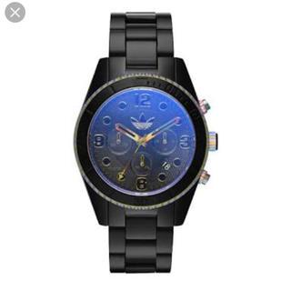 アディダス(adidas)のadidas  腕時計 ADH2962 ブラック オーロラ タマムシ(腕時計(アナログ))