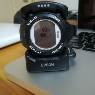 エプソン(EPSON)の☆ふなーご様専用☆ランニングウォッチ EPSON SF-110(その他)