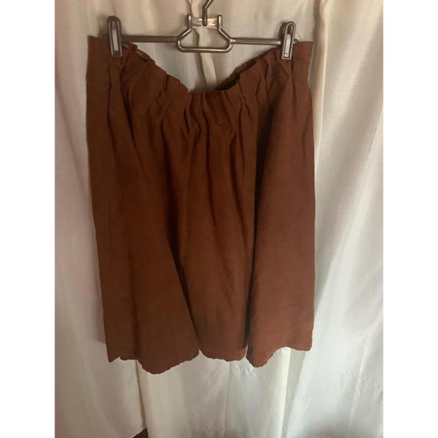 しまむら(シマムラ)の大きいサイズ レディース レディースのスカート(ひざ丈スカート)の商品写真