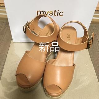 ミスティック(mystic)のmystic◆新品◆ウェッジサンダル(サンダル)