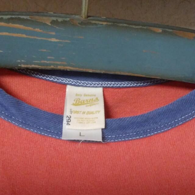 Barns OUTFITTERS(バーンズアウトフィッターズ)のBARNS メンズ Tシャツ used L メンズのトップス(Tシャツ/カットソー(半袖/袖なし))の商品写真