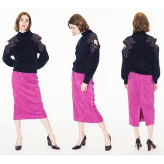 フレイアイディー(FRAY I.D)の FRAY.ID(フレイアイディー) ハイウエストタイトスカート(ロングスカート)