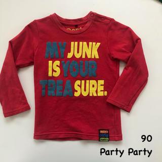 パーティーパーティー(PARTYPARTY)のParty Party  ロンT 長袖 サイズ90(Tシャツ/カットソー)