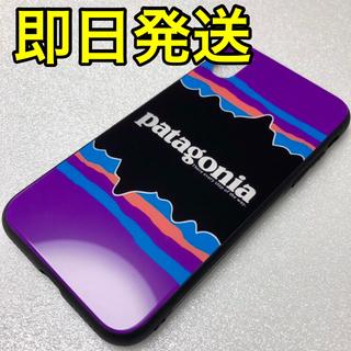 パタゴニア(patagonia)のパタゴニア patagonia iPhoneケース スマホケース 紫(iPhoneケース)