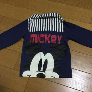 ディズニー(Disney)のミッキー トップス カーディガン(カーディガン)