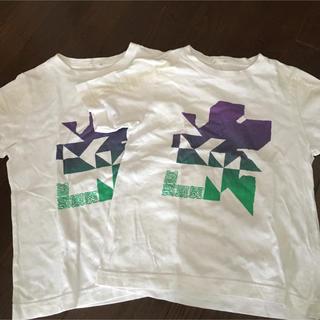 ジーユー(GU)のGU キッズ 半袖 Tシャツ 130(Tシャツ/カットソー)
