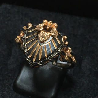 k18  ヨーロピアン調のリング(リング(指輪))